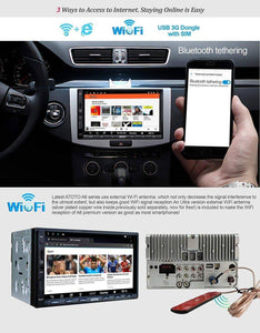 Car Radio - Double Din Android Car GPS Navigation Stereo Player