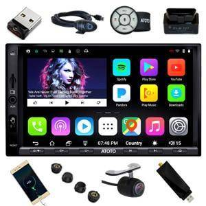 Image of Car Radio - Double Din Android Car GPS Navigation Stereo Player