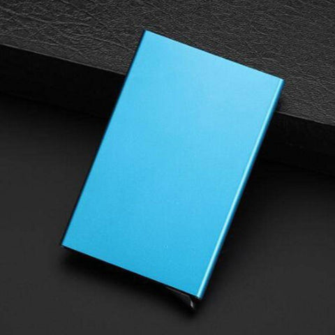 Card & ID Holders - Auto Slide ID Cash & Credit Card Holder | RFID Block Wallet