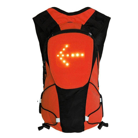Climbing Bags - USB Rechargeable Led Turn Signal  Reflective Pack