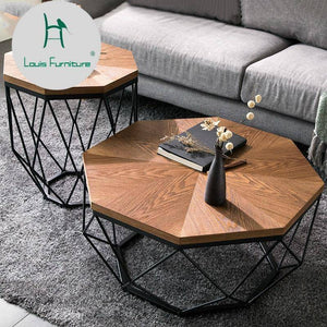 Louis Fashion Coffee Table | Modern Small Apartment Designer Furniture
