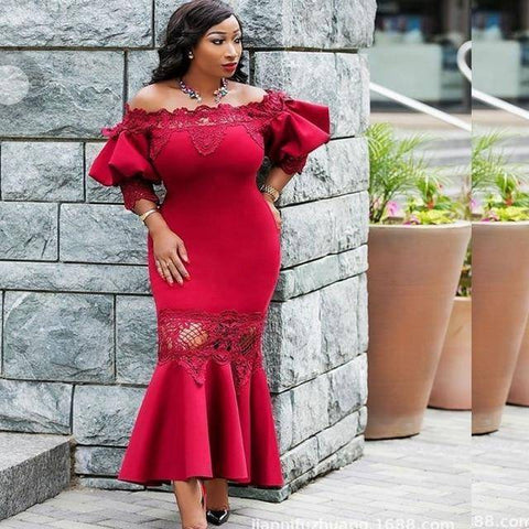 Image of Dress - 2018 Elegant African Dresses For Women | Premium Quality