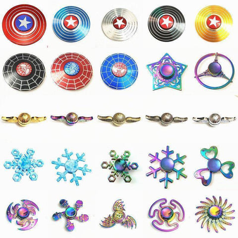 Fidget Spinner - Fidget Spinner Toys For Children