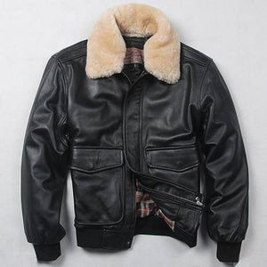 Avirex Fly Air Force Flight Jacket | With Fur Collar