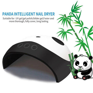 Gel Curer - Panda Professional LED UV Nail Polish Gel Curer |  Smart Sensor Light Curing Manicure Machine 36W