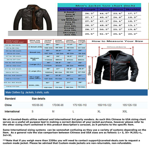 Image of Genuine Leather Coats - Sheepskin Genuine Leather Men's Jacket | Fur Lining