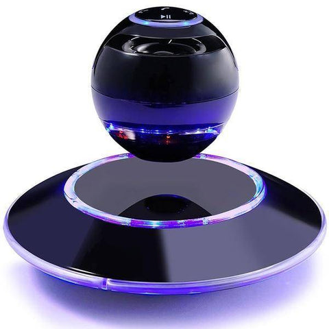 Image of GPS Accessories - Cool Car Styling Creative Magnetic Floating Levitating Portable Wireless Hands-free Call Bluetooth Speakers With Microphone