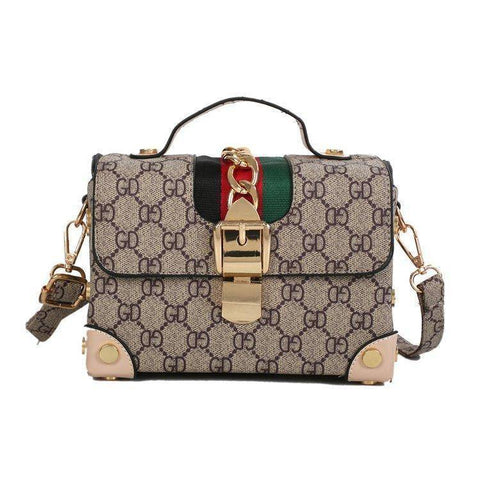 Image of Handbag - Women's Square Messenger Handbag