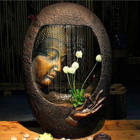 Humidifier - Buddha Fountain Home Decoration  Humidifier