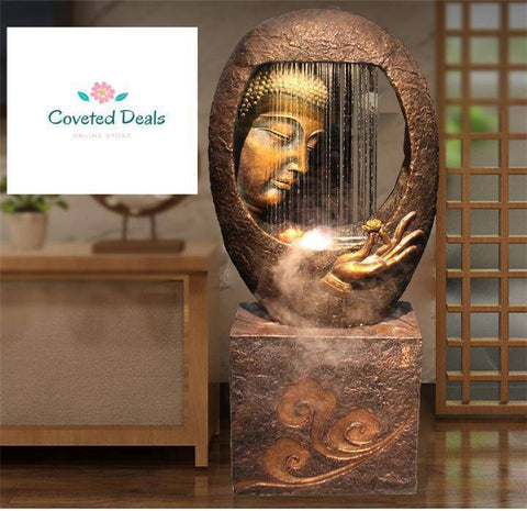 Image of Humidifier - Buddha Fountain Home Decoration  Humidifier