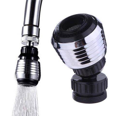 Image of Kitchen Faucet Accessories - Universal 360 Rotary Kitchen Faucet  Head Economizer & Filer