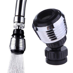 Kitchen Faucet Accessories - Universal 360 Rotary Kitchen Faucet  Head Economizer & Filer