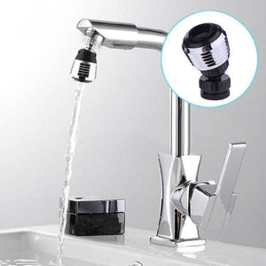 Universal 360 Rotary Kitchen Faucet  Head Economizer & Filer
