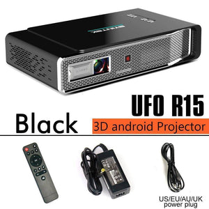 LCD Projectors - WIFI Video Home Theater LED Portable  Mini DLP Projector 3D | Full HD 1080P HDMI 4K