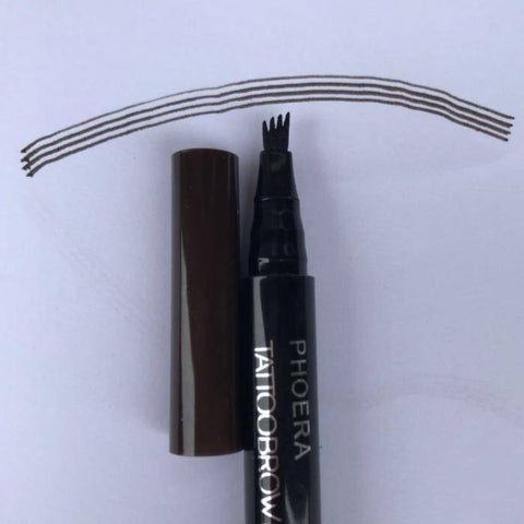 Image of Microblading Pen - Eyebrow Beautifying Tool | 24 Hour Lasting 3 Colors Eyebrow Enhancing Pencil