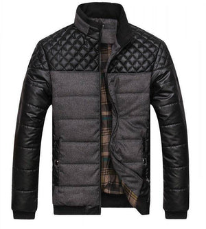 Winter Thick Men's Patchwork  Jackets and Coats