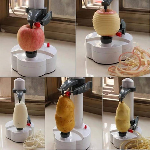 Image of Peelers & Zesters - Electric Multi-function Fruit And Vegetable Peeler