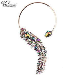 Pendant Necklaces - Crystal Wedding Party Jewelry Necklace Choker Collar