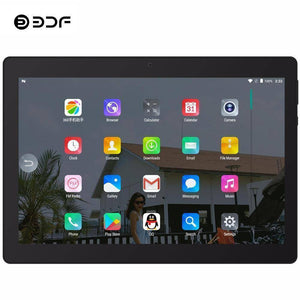 Phone Call Tablets - 10 Inch Android 7.0  Tablet | Quad Core 4GB+32GB  3G Phone WiFi Bluetooth Mobile Phone Tablet