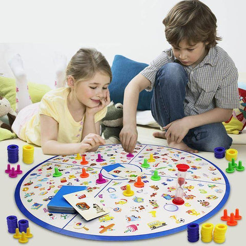 Puzzles - Detectives Looking Chart Board Puzzle Brain Training Toys For Children