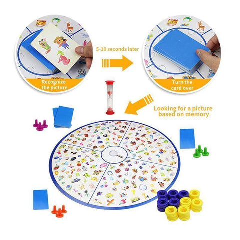 Image of Puzzles - Detectives Looking Chart Board Puzzle Brain Training Toys For Children