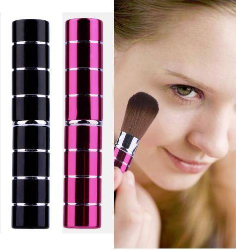 Retractable Soft Face Cheek Powder Foundation Blush Brush