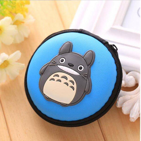 Image of Storage Bags - Mini Protective Artistic Earphone Case Pouch Storage Bag