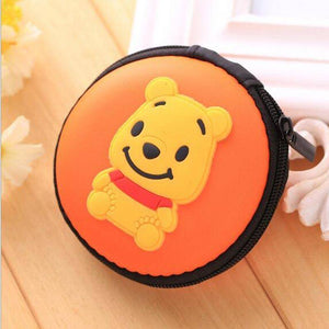 Mini Protective Artistic Earphone Case Pouch Storage Bag
