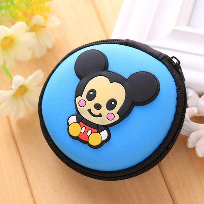 Storage Bags - Mini Protective Artistic Earphone Case Pouch Storage Bag