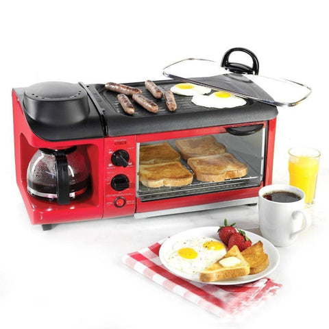 Image of Toast And Breakfast Maker - Multi-Functional Breakfast Toast /Coffee /Omelette Making Machine 110V/220V