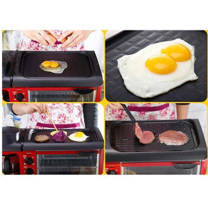 Toast And Breakfast Maker - Multi-Functional Breakfast Toast /Coffee /Omelette Making Machine 110V/220V