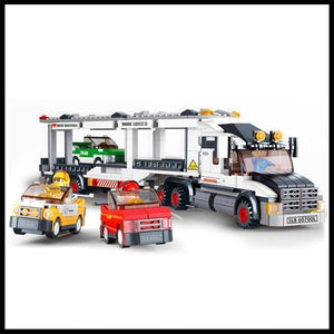 Toy Truck - 638Pcs Carrier Vehicle Transport Truck Model