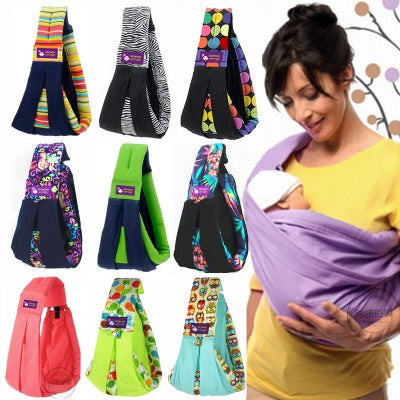 Image of Toys, Kids & Baby / Baby & Mother / Backpacks & Carriers - Cotton Breathable Sling Baby Carrier