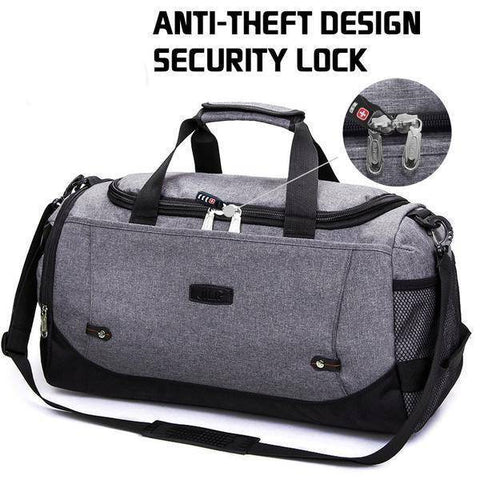 Image of Travel Bags - Large Capacity Anti-Theft Travel Duffel Luggage Bag