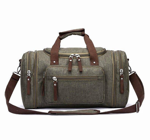 Travel Bags - Soft Waterproof Men Travel Bags Carry On Large Capacity Duffel Water-repellent Bags