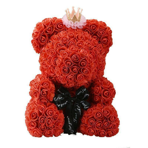 Valentine's Gift - Valentine's Day Rose Teddy Bear