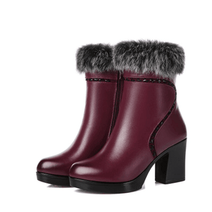 Warm Luxury Women's Boots