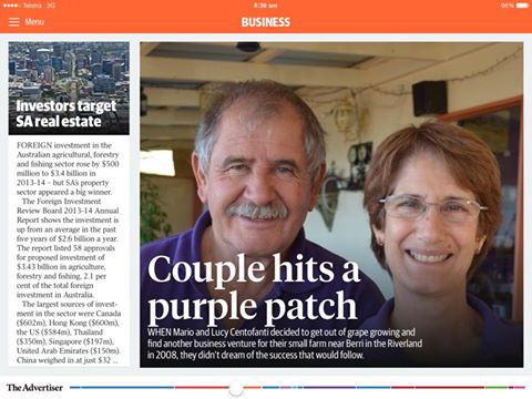 Bella Lavender Estate - Adelaide Advertiser