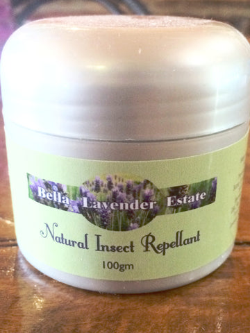 Natural Insect Repellant - 100g - Bella Lavender Estate