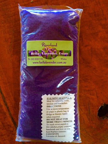 Lavender and Flaxseed Eye & Tension Relief Pack - Bella Lavender Estate