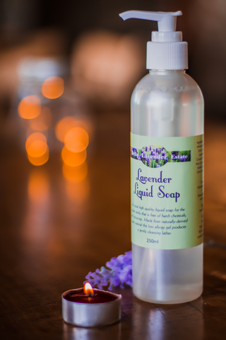 Lavender Liquid Soap - 250ml - Bella Lavender Estate
