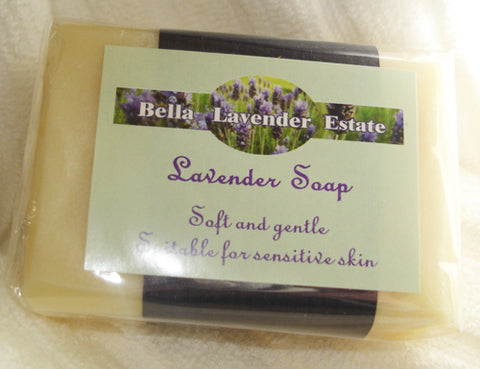 Lavender Soap Bar - 110g - Bella Lavender Estate