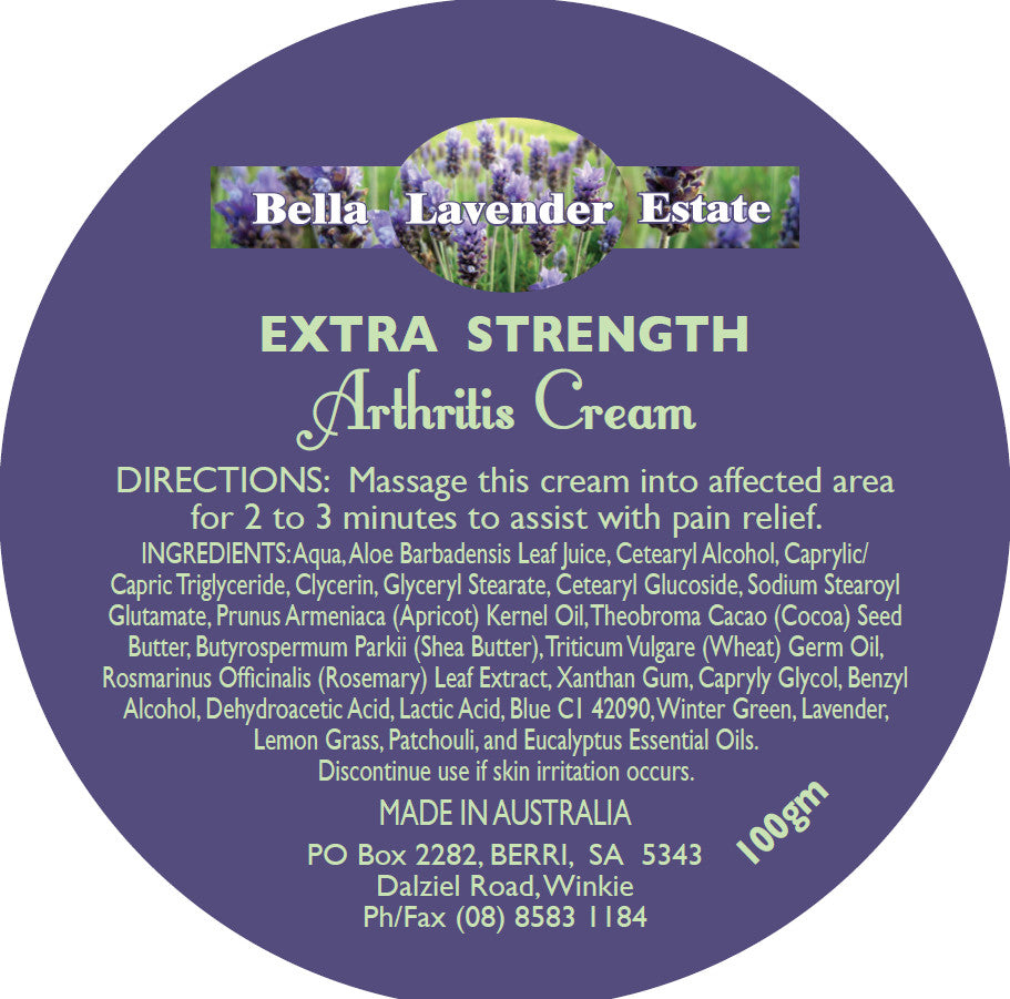 Have you tried our Extra Strength Arthritis Muscle Rub Cream?