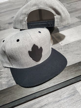 Load image into Gallery viewer, Snap Back Midnight Leather logo