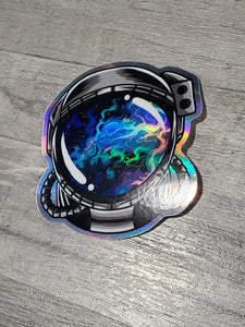 Dragon's Head Nebula Holographic Sticker