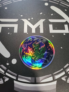 Pawgea Sticker Holographic