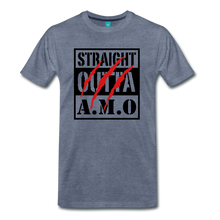 Load image into Gallery viewer, Straight Outta A.M.O T-Shirt - heather blue