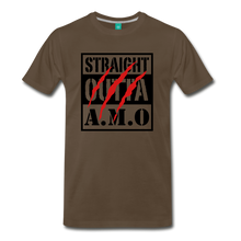 Load image into Gallery viewer, Straight Outta A.M.O T-Shirt - noble brown