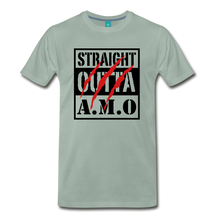 Load image into Gallery viewer, Straight Outta A.M.O T-Shirt - steel green