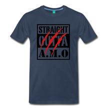Load image into Gallery viewer, Straight Outta A.M.O T-Shirt - navy